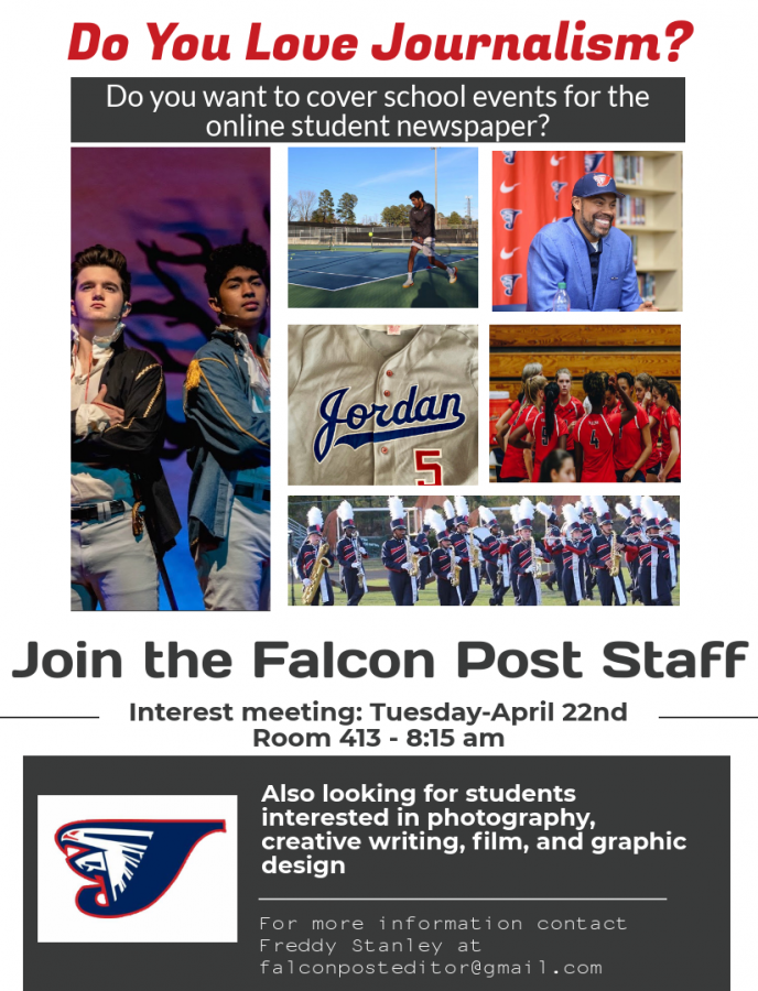 Join the Falcon Post Staff!